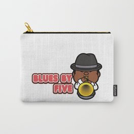 Blues By Five ! Carry-All Pouch