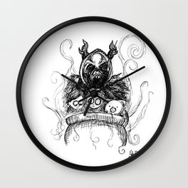 I Call On My Army of the Dead Wall Clock