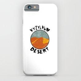 Kyzylkum Desert  TShirt Deserts Shirt Sand Dune Gift Idea iPhone Case
