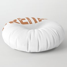 My Second Favorite Word With F Friday Floor Pillow