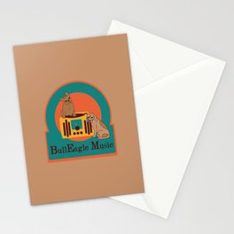 BullEagle Music Stationery Cards