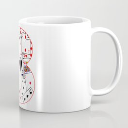 Number Eight Cards Coffee Mug