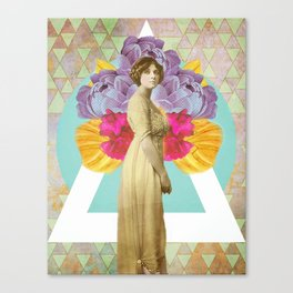 The Look Canvas Print