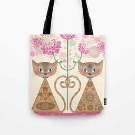 We Are Siamese Tote Bag