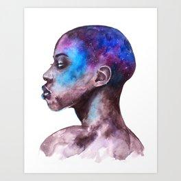 Portrait Galaxy Study #1 Art Print