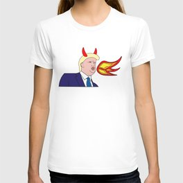 Fire-breathing Trash T-shirt