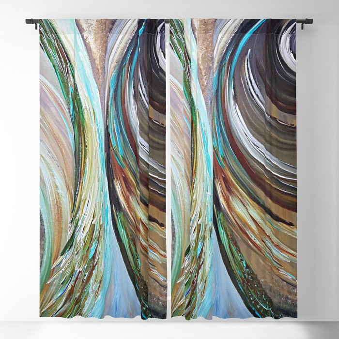 Peacock Trail Blackout Curtain