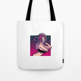 Astronaut - Pin-up Tote Bag