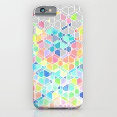 Rainbow Cubes & Diamonds iPhone 6s Slim Case