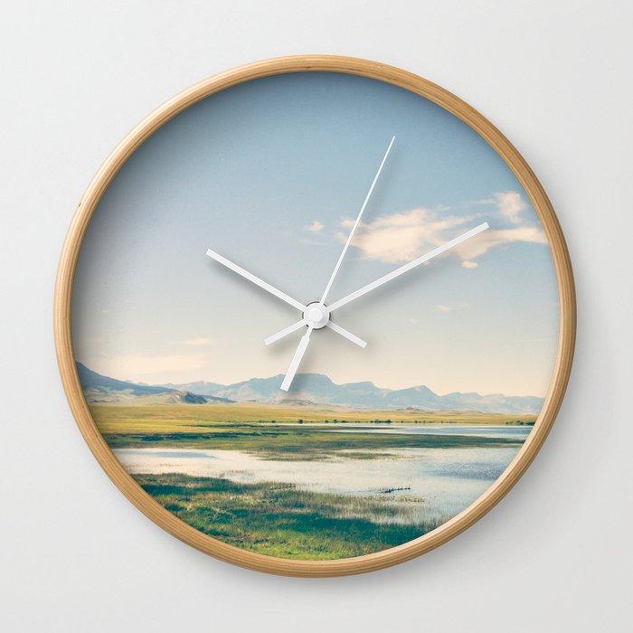 A Path Less Traveled Wall Clock