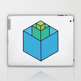 Square in Square Laptop & iPad Skin