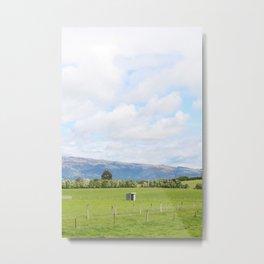 Dunedin Farm Metal Print