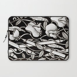Sweetpeas and Pencils Laptop Sleeve