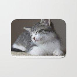 Jack - Kitten Portrait #3 (2016) Bath Mat