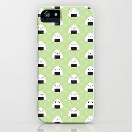 Kawaii Onigiri Rice Balls iPhone Case