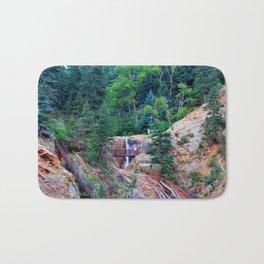 Colorado seven Falls Rocky Mountain's Bath Mat