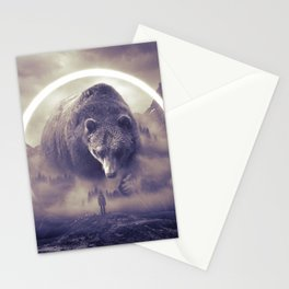 aegis II | bear Stationery Cards