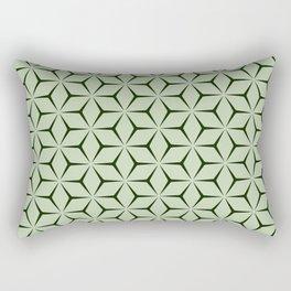 Cubic Pattern II Rectangular Pillow