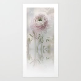 Ranunculus feelings Art Print