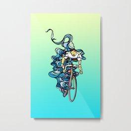 Road Bike Metal Print