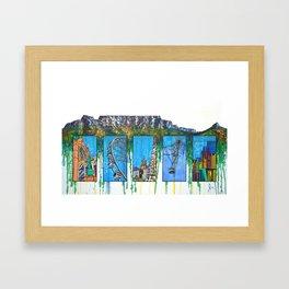 Mother City Framed Art Print