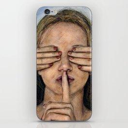 Silence in the Dark  iPhone Skin