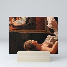 Victoria and the mirror Mini Art Print