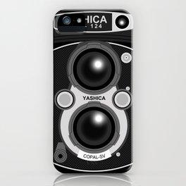Yashica Mat-124 iPhone Case