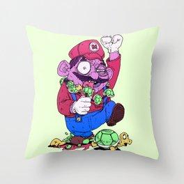 Crazy Italian! Throw Pillow