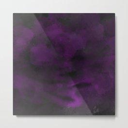 Purple Paroxysm Metal Print