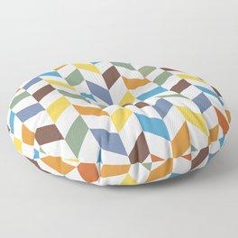 Abstract 19-02 Floor Pillow