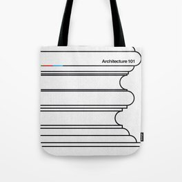 Architecture 101 Tote Bag
