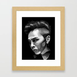 Kwon Ji Yong / G-Dragon Framed Art Print