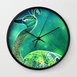 The Emerald Prince Wall Clock
