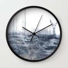 After the fire II Wall Clock
