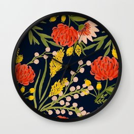 Chasing Colors Wall Clock