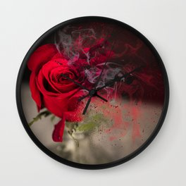 whats a rose Wall Clock