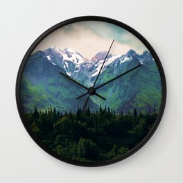 Escaping from woodland heights I Wall Clock