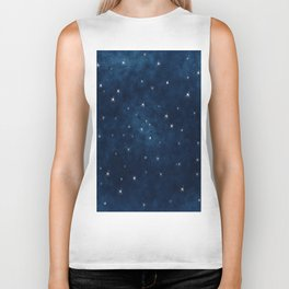 Whispers in the Galaxy Biker Tank
