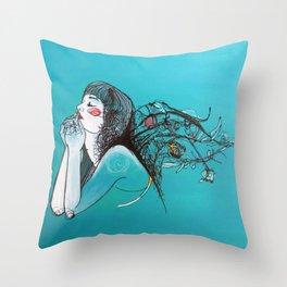 Gift of Life Throw Pillow