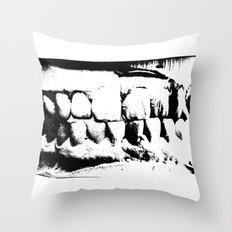 Wicked Smile Throw Pillow