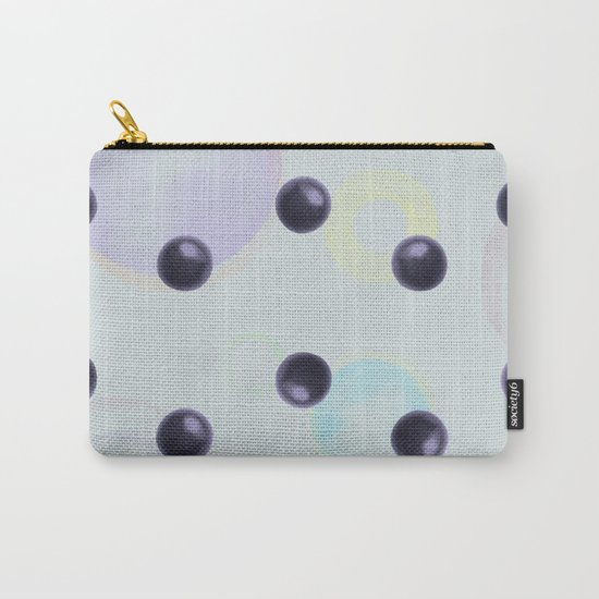 Plums Pattern Carry-All Pouch
