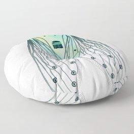 Cicadae Musicadae Floor Pillow