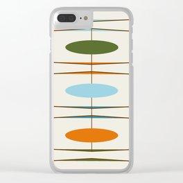 Mid-Century Modern Art 1.2 Clear iPhone Case
