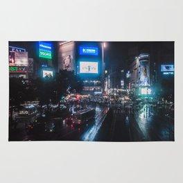 Shibuyacrossing Rainy Night Rug