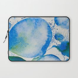 Blue Study Laptop Sleeve