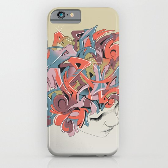 Graffiti Head iPhone & iPod Case