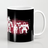 thundercats Mugs featuring Plastic Villains  by powerpig