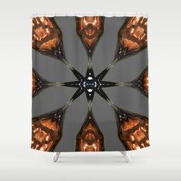 Lava demon Convergence 2 Shower Curtain