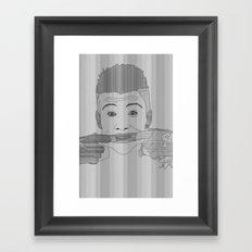 Ash Framed Art Print